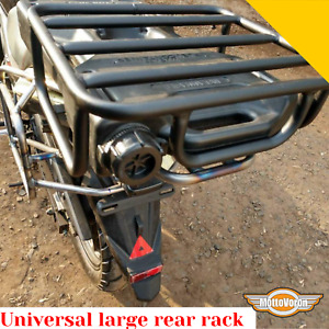Large rear rack universal Organizer on top of the rear rack for trip luggage