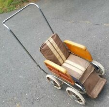 BABY BUGGY - Hedstrom - Carriage . Stroller . Pram . 1940's? . Woody . RARE!