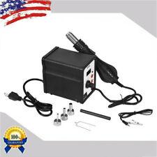 110V 858D 700W Electric Hot Air Heat G un Soldering Station Desoldering Tool LED