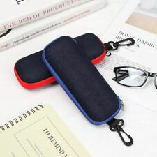 Fabric Eyewear Protector Glasses Box Zipper Eyeglasses Case Spectacle Carry Bag