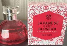 The Bodyshop Fragrance: Japanese Cherry Blossom Strawberry Kiss EDT 50ml sealed