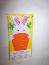 Papyrus Easter Greeting Card & Envelope; Bunny Carrot