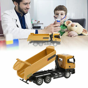 1/50 Scale Engineering Dump Truck Model Alloy Construction Vehicle Static Toy