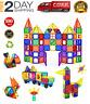 Magna Tiles Clear Colors 100 Pcs 3D Set Magnetic Building Toy smarter 3+kids