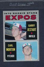 1970 Topps #109 Expos Rookie Stars Jestadt/Morton NM *3345