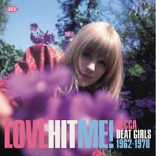 "LOVE HIT ME!  ""DECCA BEAT GIRLS 1962-1970""  24 TRACKS CD"
