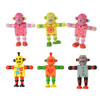 Creative Wooden Robot Learning & Educational Kids Early Learning TA8A