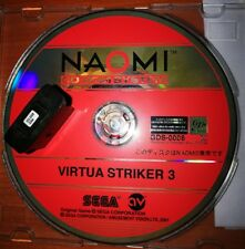 SEGA NAOMI2 VIRTUA STRIKER 3 GD-ROM + DONGLE/SECURITY CHIP JAMMA ARCADE