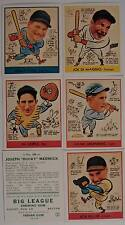 1938 GOUDEY BASEBALL CARD  REPRINT SET FOXX DIMAGGIO