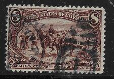 US Scott #289, Single 1898 Trans-Mississippi 8c FVF Used