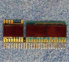Drake TR-7, R-7 & RR-3 two and 4 Digit LED Displays. NOS Drake #s 3080021 & 22.