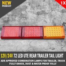 NEW JUMBO 12V/24V 72 LED Ute Rear Trailer Tail Light Caravan Truck Boat Car