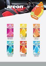 AREON Monbrane Car Hanging Air freshener Gel - Vanilla, Bubble Gum, Peach & more