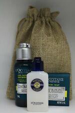 NEW L'Occitane Men's L'Homme Cedrat body & hair wash Gift bag