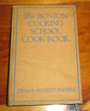 The Fannie Merritt Farmer Boston Cooking School Cookbook, 1943 7th edition, HB