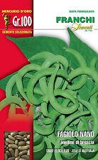 Semi/Seeds FAGIOLO Nano Anellino di Brescia