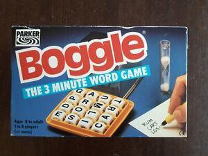 Boggle The 3 Minute Word Game 1992 Parker Games 100% Complete vintage