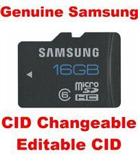 Genuine Samsung 16GB microSD Card, CID Changeable new Made in Korea, MB-MSAGB/EU