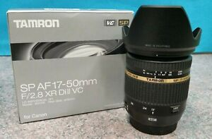 TAMRON SP AF 17-50MM f/2.8 XR Di-II VC LD ASPHERICAL (IF) CAMERA LENS FOR CANON