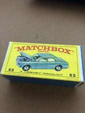 Matchbox 54 Ford Zodiac Mk 4