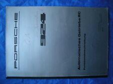 PORSCHE-924-Brochure-Workshop-Manual-Automatikgetriebe-Funktion-Catalog-RAR
