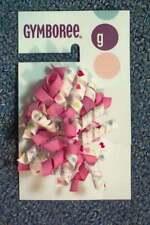NWT Girls SUGAR COOKIE Gymboree 2 pc curly ribbon barrette set Valentine hearts