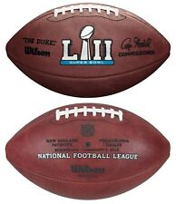 SUPER BOWL LII 52 Authentic Wilson NFL Game Football - OFFICIAL GAME BALL