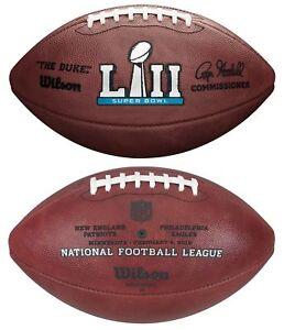 SUPER BOWL LII 52 Authentic Wilson NFL Game Football PHILADELPHIA EAGLES
