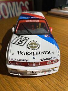Minichamps 1/18 BMW E30 M3 DTM Champion 1989 Ravaglia RARE Dealer Edition!!!!!!!