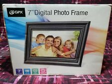 "GPX 7"" Digital Photo Frame PF702B Brand New"