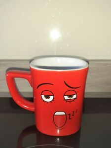 Nescafe Red Square  Mug Novelty Zzzzz Collectable