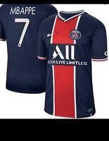 PSG Home Jersey Champions League Mbappe Medium