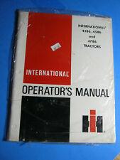 IH International Harvester 4386 4586 4786 Tractor oem Operator's Manual 1979
