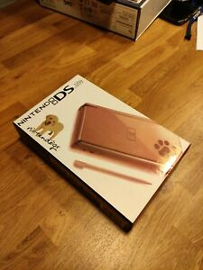 NINTENDO DS LITE NINTENDOGS EDITION CONSOLE METALLIC ROSE BOXED EXCELLENT COND