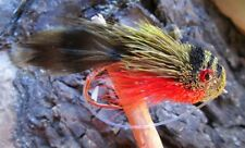 CDC Dry Fly Gilchrist Fly 4 pieces of a size Yellow Sally