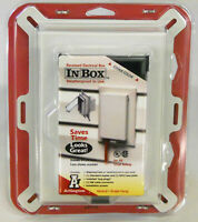 Arlington 60VC IN-and-OUT Collapsible Weatherproof Vertical Outlet Box Cover NIB