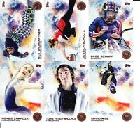 2014 Topps US USA Olympic Paralympic Team BRONZE PARALLEL Pick List $3 Flat SH