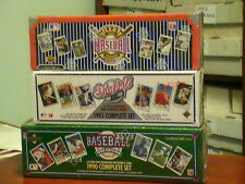 1990-1991-1992 Upperdeck baseball three compete factory sets