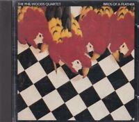 The Phil Woods Quartet Birds Of A Feather CD Japanese Jazz FASTPOST