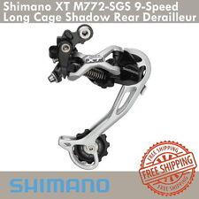 Shimano Deore XT RD-M772-SGS 9 Speed Derailleur Shadow Long Cage MTB Bicycle