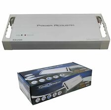 5 Channel Compact Class D 2 Ohm Stereo Marine Amplifier 2500W MA5-2500D