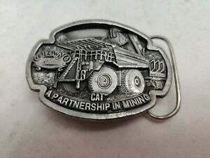 CAT Caterpillar Limited Edition Belt Buckle Mining Colowy Norscot 1995