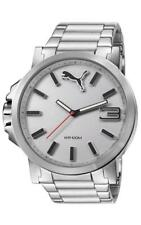 Men's PUMA Ultrasize Stainless Steel Watch PU103461002
