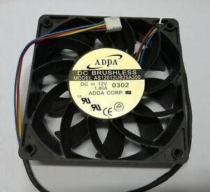 ADDA AS12012UB25A300 12025 12V 1.80A 4-wire violent cooling fan