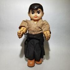 "VINTAGE 1960S BANDAI JAPAN BOY WIND UP TIN Robot 9"" POPY BULLMARK TAKATOKU RARE"