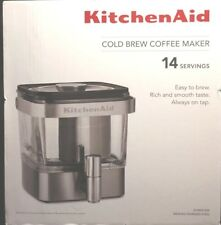 Kitchenaid 14 Servings Cold-Brew SS Coffee Maker Model: KCM4212SX ~ Brand New!