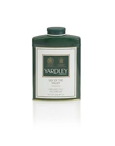 Yardley of London Perfumed Talc Lily of The Valley, 7 Oz