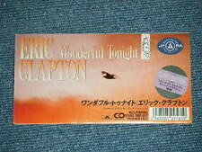 "ERIC CLAPTON Japan Only 1992 Ex Tall 3"" CD Single WONDERFUL TONIGHT"