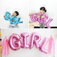 de décoration ballon en aluminium garçon et fille baby shower gonflable