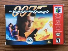 N64 007 THE WORLD IS NOT ENOUGH IN BOX ITEM #1081-20